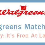 Walgreens Ad Match Ups 9/2