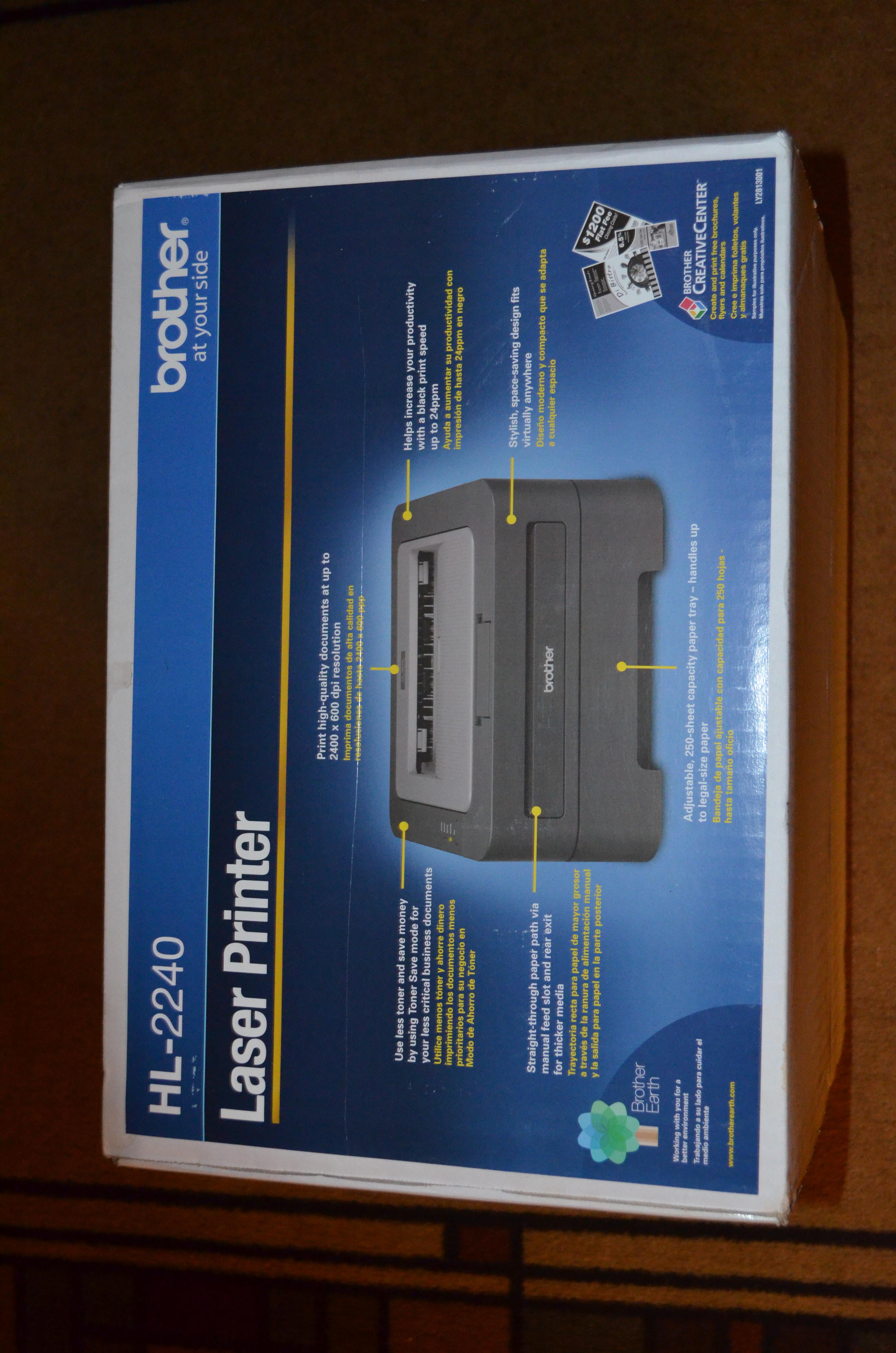 Brother HL-2240 Mono Laser Printer #Review