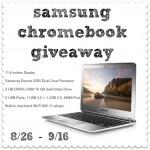 Samsung Chromebook Giveaway (Ends 9/16/13)