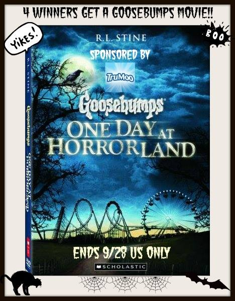 Goosebumps Movie Giveaway Button