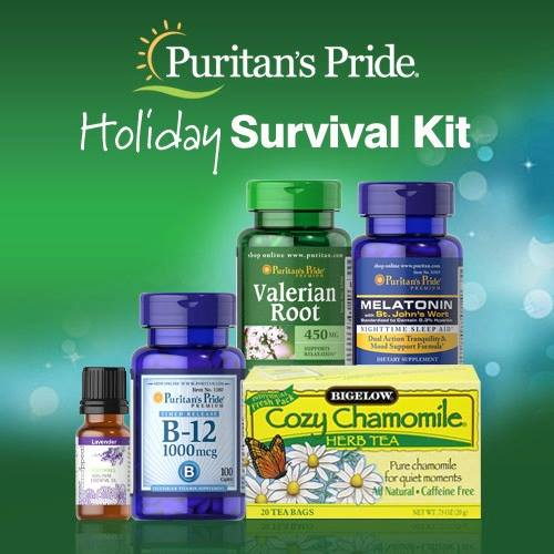Puritan39;s Pride Holiday Survival Kit Giveaway ends 10/25/13  It39;s