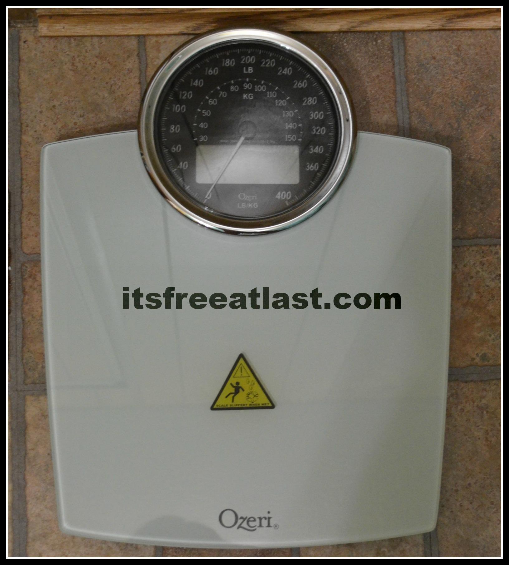 Ozeri Rev Digital Bathroom Scale with Electro Mechanical Weight. Discount Bathroom Vanities Los Angeles