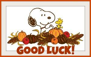 Snoopy Good Luck