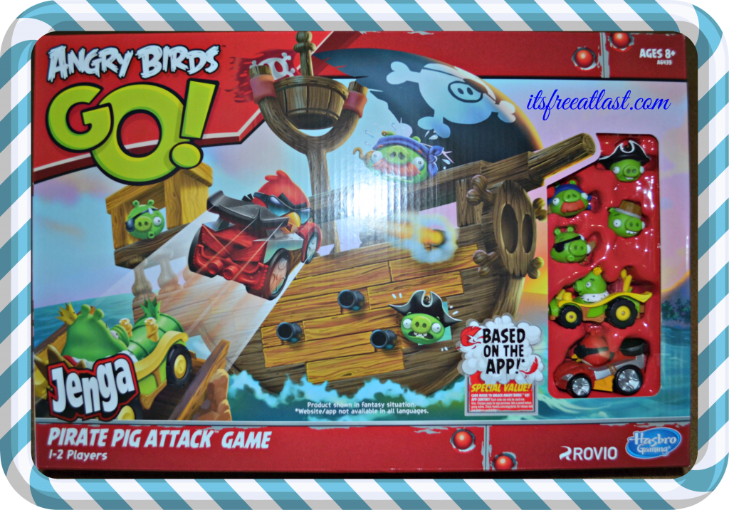 angry birds go jenga pirate pig attack game online