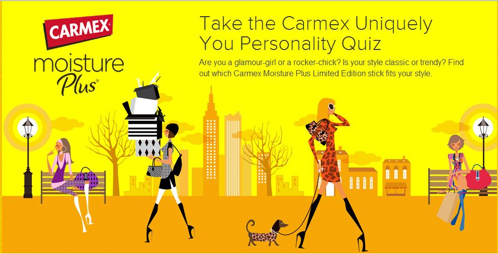 Carmex Personality Quiz Photo