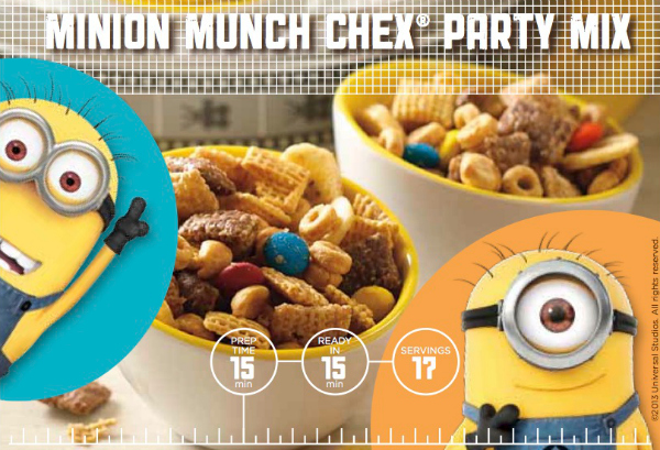 Minion Munch Stock Photo
