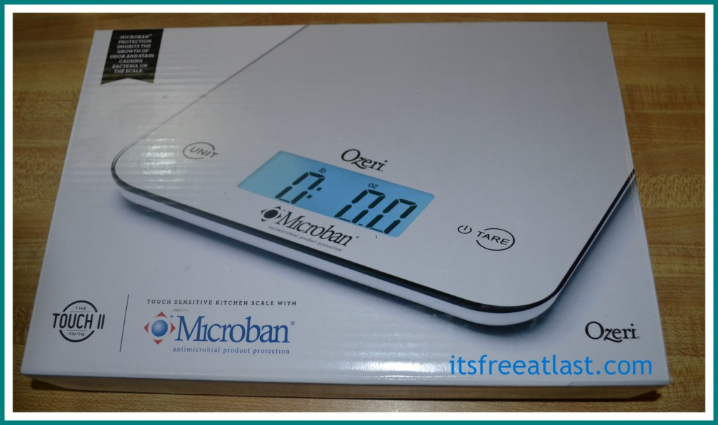 Ozeri Touch Ii Professional Digital Kitchen Scale Review It 39 S Free At Last