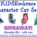KidsEmbrace Character Car Seat Giveaway (Ends 1/20/14)