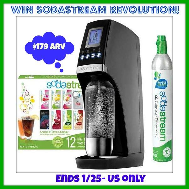 SodaStream Machine Giveaway Photo