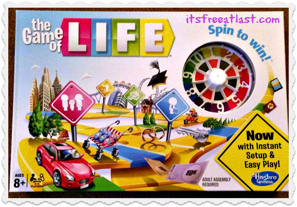 game of life sweepstakes hasbro s quot the game of life quot review giveaway ends 2 17 6098