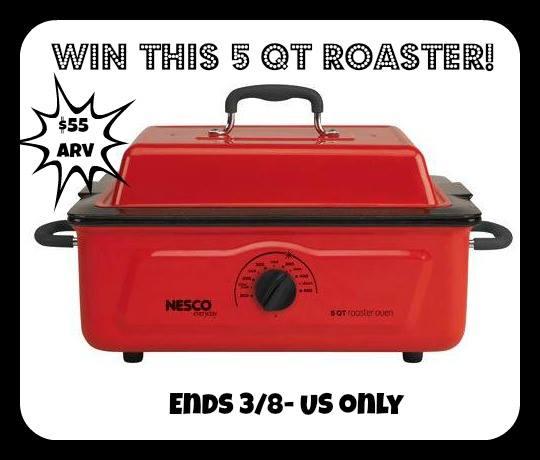 Nesco Red 5 QT Roaster Giveaway