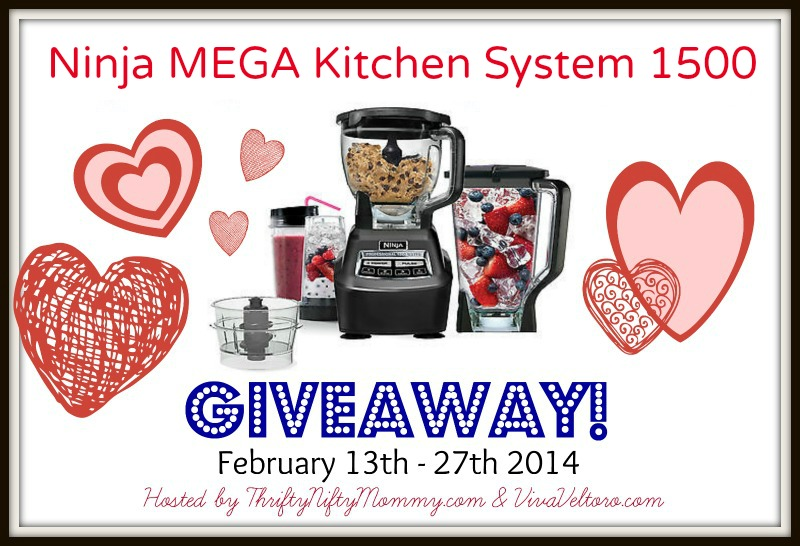 Ninja Mega Kitchen System 1500 Blender Giveaway Ends 2 27 14 It 39 S Free At Last
