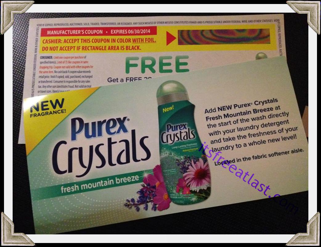 Purex coupons printable