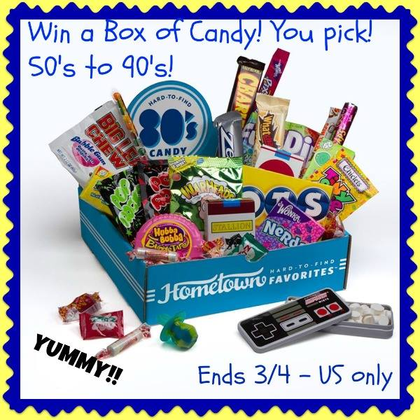 Retro Candy Box Giveaway Button
