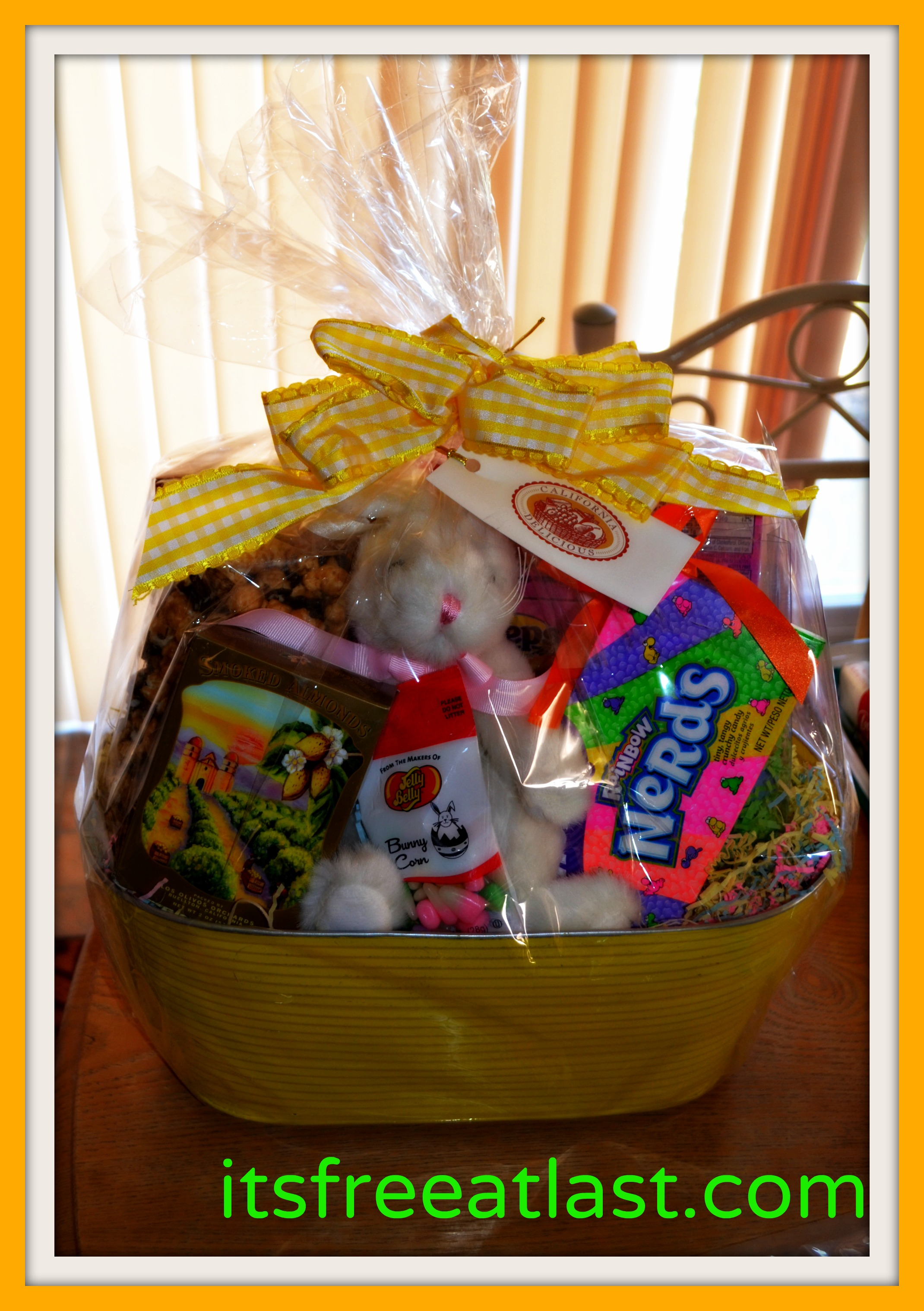 California delicious easter gift basket review 75 gift card ca delicious easter basket negle Images