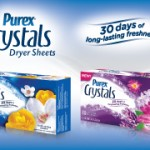 #Enter to #Win Year's Supply of Purex Crystals Dryer Sheets & $500 CASH!