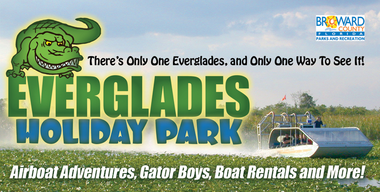 Everglades Holiday Park Banner