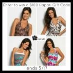 $100 Hapari Swimwear Gift Card Giveaway (Ends 05/17/14)