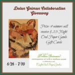 Welcome to the Dolan Geiman Collaboration Giveaway ~ #Win $25 Night Owl Paper Goods Gift Card (Ends 07/10/14)