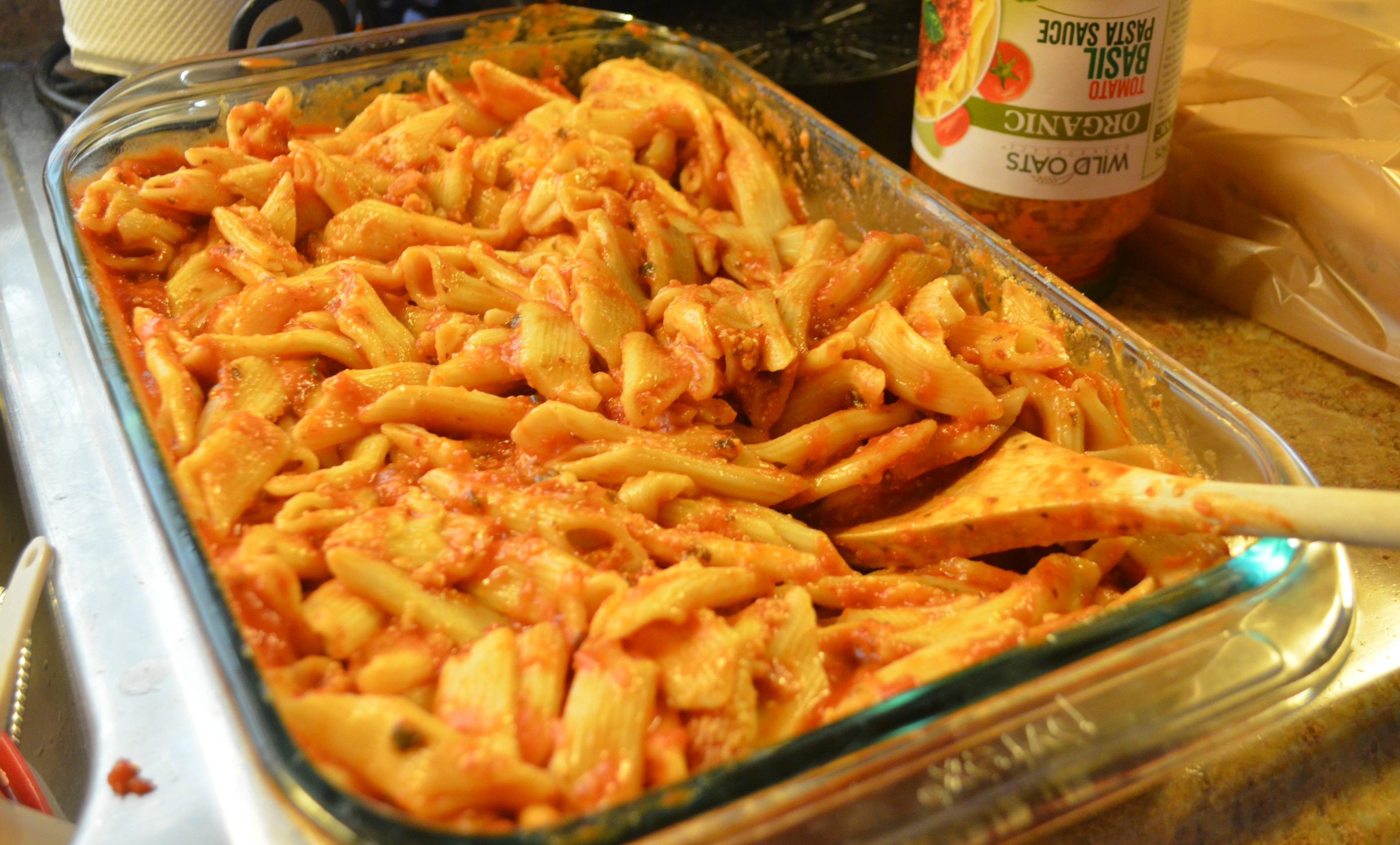 Noodles Mixture Ziti Chicken