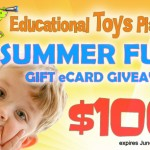 $100 eGift Card Giveaway from Educational Toys Planet (Ends 06/27/14)