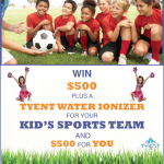 Tyent Water Ionizer & $500 Cash Giveaway PLUS a Great Twitter party w/ TONS of prizes #alkalinewaterforhealth