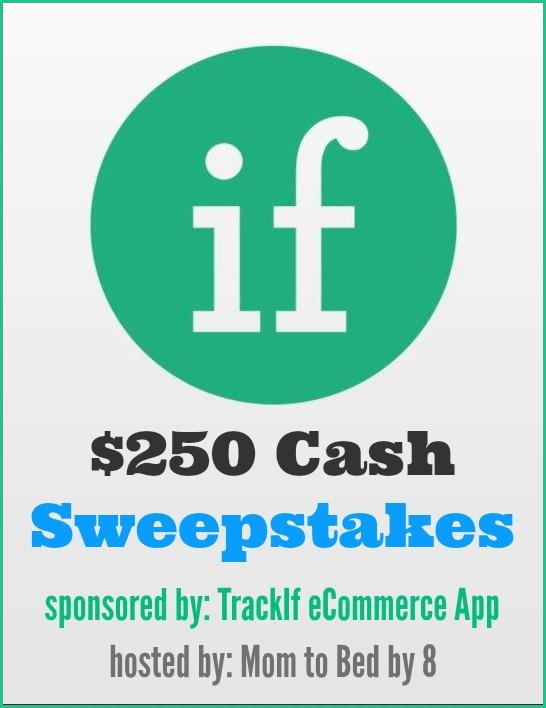 TrackIf eCommerce App Cash Giveaway