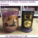 #Win 2 Hidden Treasure Candles (1 Winner, Ends 07/28/14)