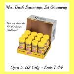 Mrs. Dash 12 Pack Seasoning Set Giveaway (Ends 7/14/14)