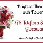 #Win a $75 Teleflora Gift Card Giveaway (Ends 07/23/14)