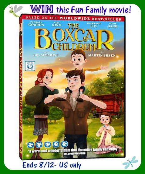 The Boxcar Children Collector's Edition DVD Giveaway!