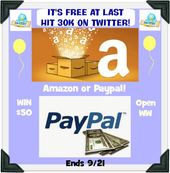 has anyone won an amazon giveaway win a 50 paypal or amazon e gift card open worldwide 6242