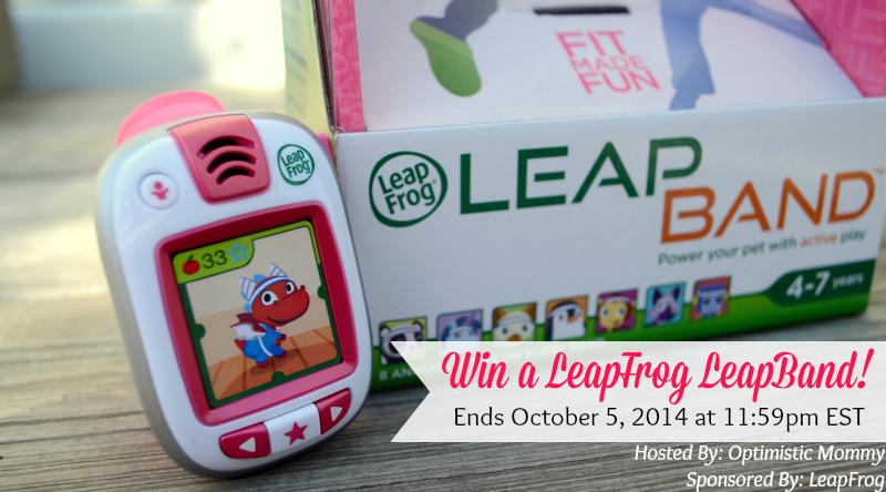 LeapFrog LeapBand #Giveaway (Ends 10/5)