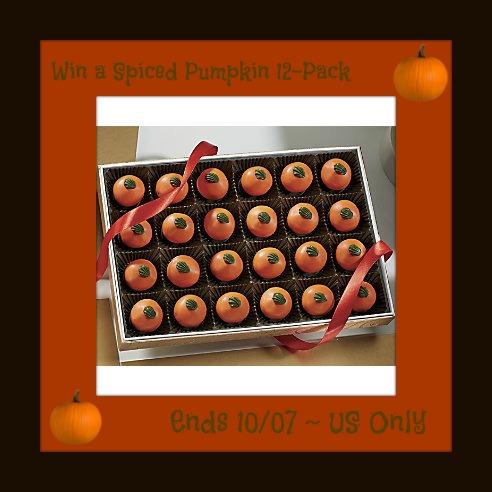Swiss Colony Pumpkin Spiced Truffles