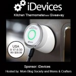 iDevices Kitchen Thermometer mini Giveaway (Ends 09/30/14)