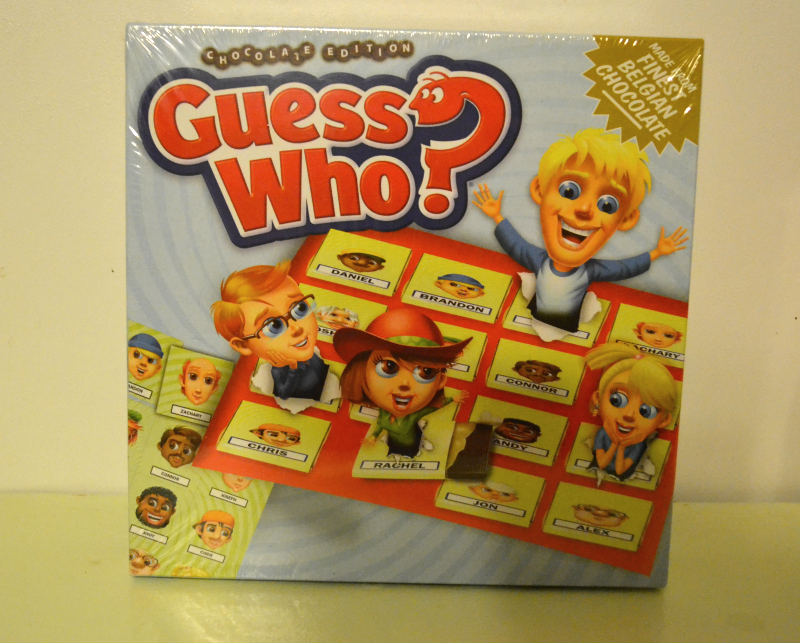 Chocolate Edition Guess Who