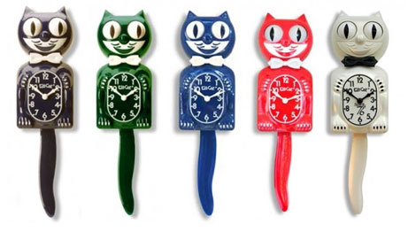 Kit Cat Clock Line
