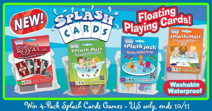 Splash Cards Giveaway