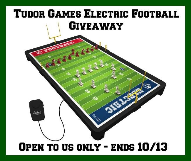 tudor games electric football game giveaway ends 10 13 14