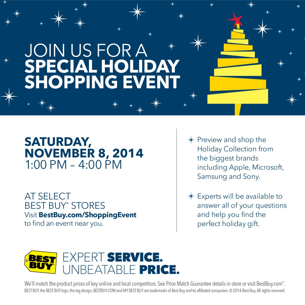 Best Buy\'s Holiday Shopping Event @BestBuy #BBYShoppingEvent - It\'s ...