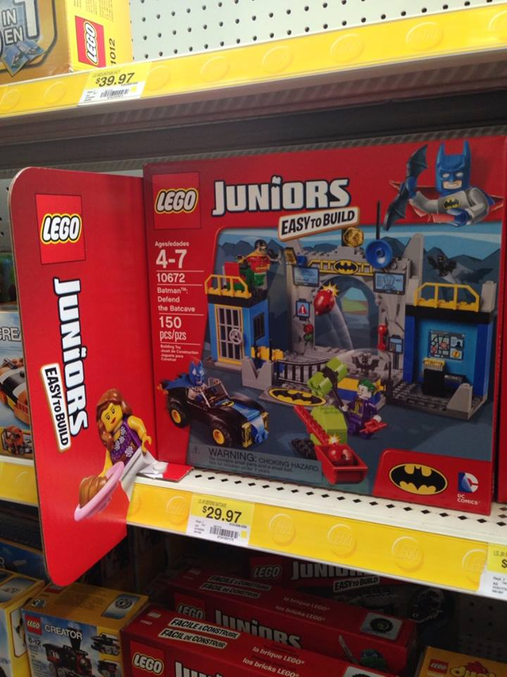 Lego Toys At Walmart : Lego juniors quot defend the batcave chosenbykids toy review