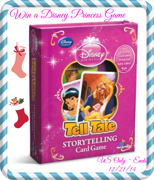 Enter the Disney Princess Tell Tale Storytelling Game. Ends 12/21.