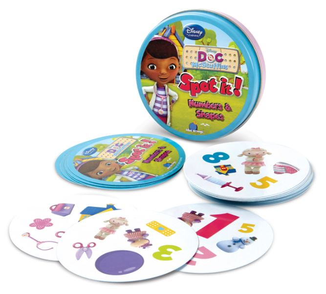 Doc McStuffins Spot It