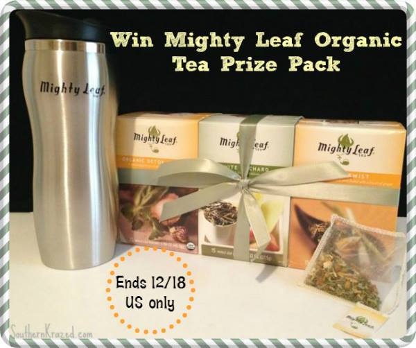 Mighty Leaf Giveaway