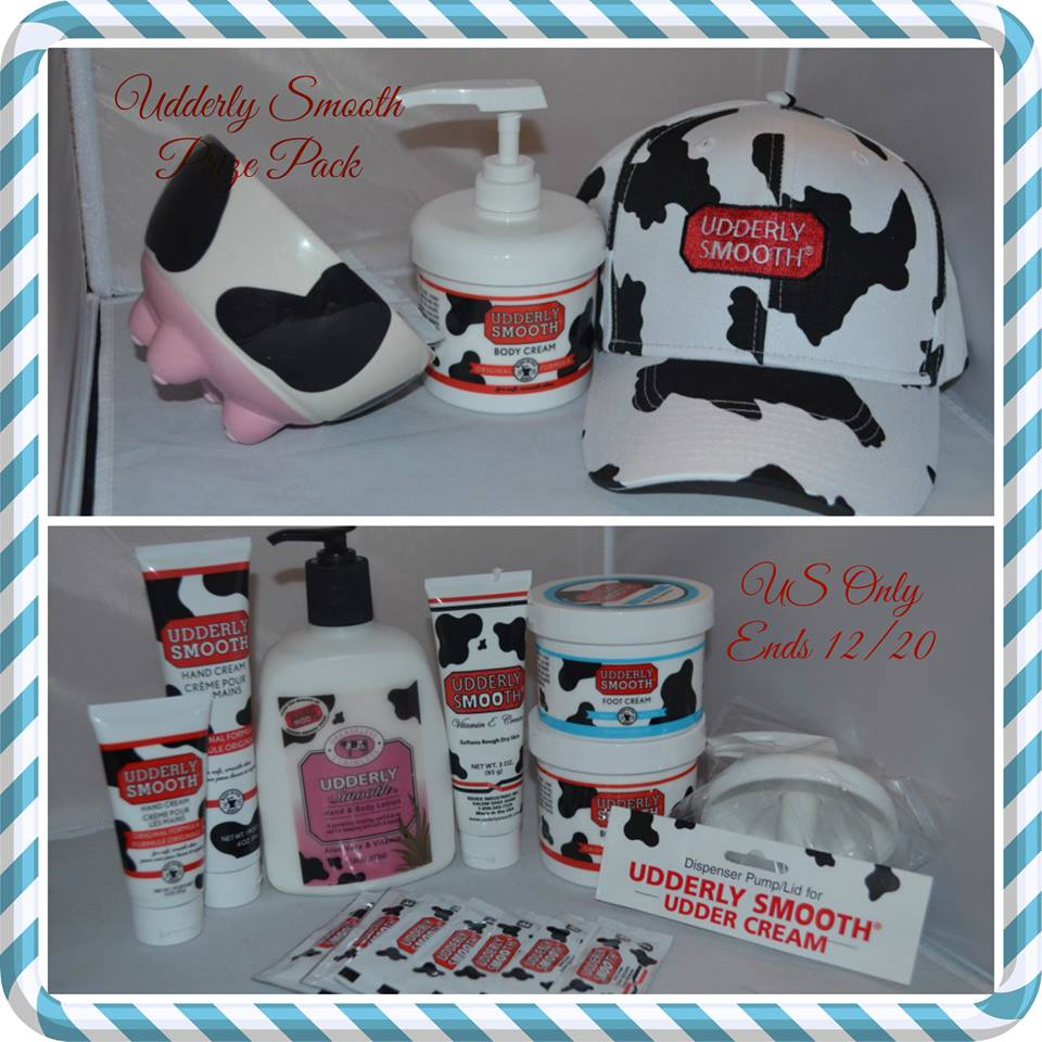 Udderly Smooth Prize Pack Giveaway