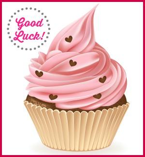 good-luck-cupcake