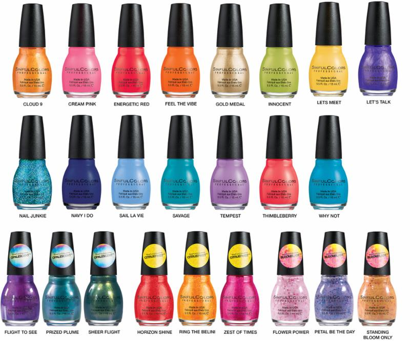 La Looks Nail Polish: Complete Your Spring Look With SinfulColors Nail Polish