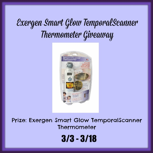 Exergen Temporal Scanner With Smart Glow Manual Guide
