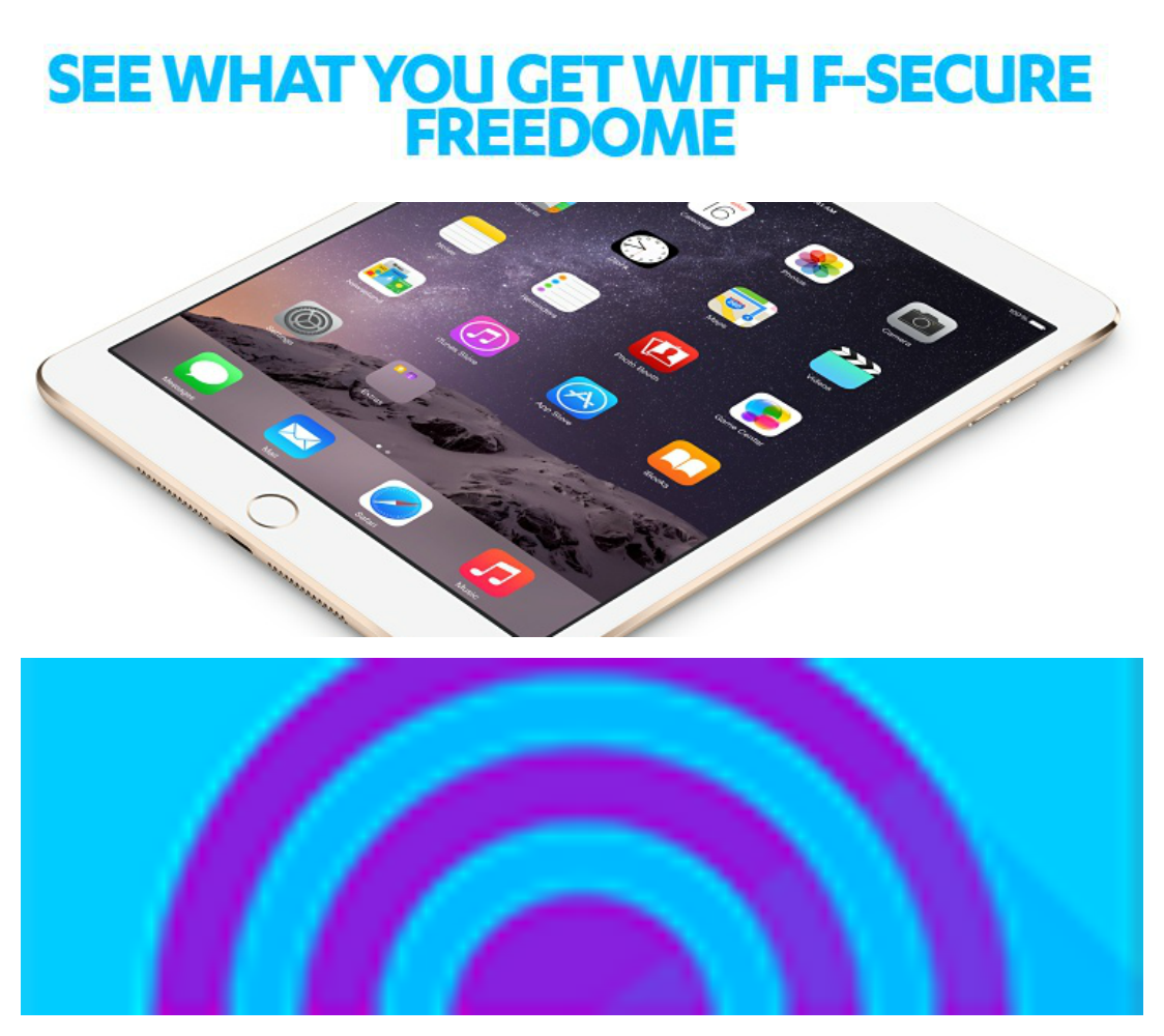 F Secure Freedome iPad Giveaway