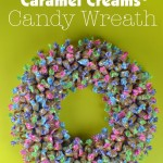 Enter to win a Colorful Delicious Custom-Made Easter Wreath of Goetze Caramel Creams (Ends 4/2/15)